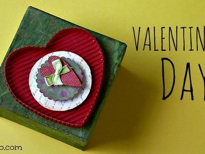 Manualidades para San Valentin, Caja para Regalo Corazón, Valentine's Box, Valentine's Ideas