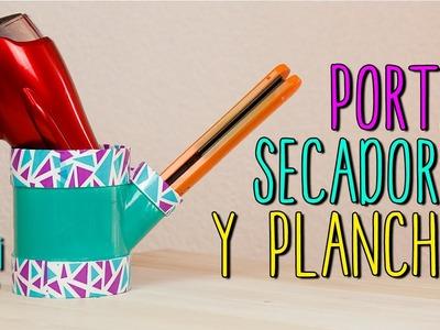 Mini Tip #41 Porta Secadora y Porta Plancha de Cabello Reciclado - DIY