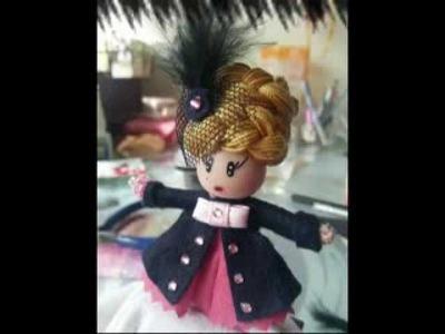 Moñitas broches de muñeca