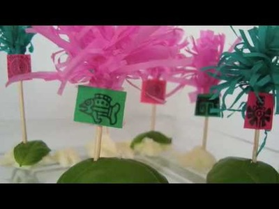 Palitos para botanas ¡Fiesta azteca!