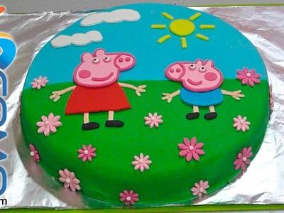 Pastel de Peppa Pig - Peppa Pig Cake