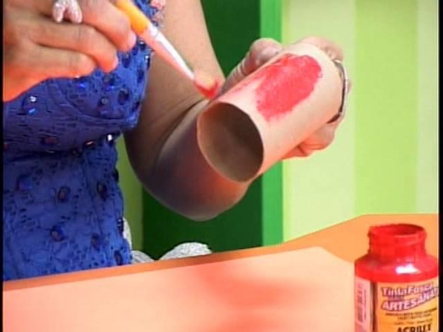 Sector de Moranguinha#3 juego con rollos de papel higienico