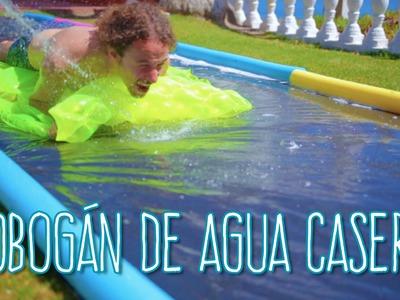 Tobogán de AguaCasero y Muy Divertido - Luisito Comunica - #mituverano #viveelverano
