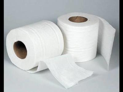 Truco con papel higiénico (corregir demasiado colorete)