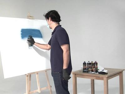 Tutorial: Cómo pintar con spray paso a paso