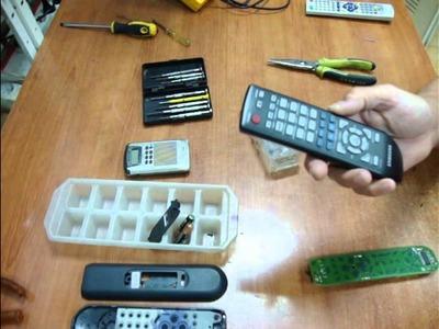 Tutorial. Cómo reparar mandos a distancia de TV DVD Sonido Aire Acondicionado.
