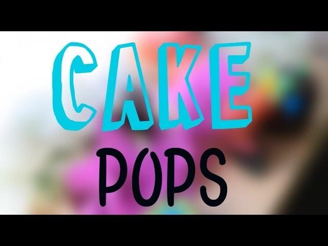 ¡ CAKE POPS FÁCILES Y ECONÓMICOS ! -PW