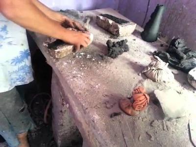 Cómo hacer artesanías de barro moldeado (s.editar completo)