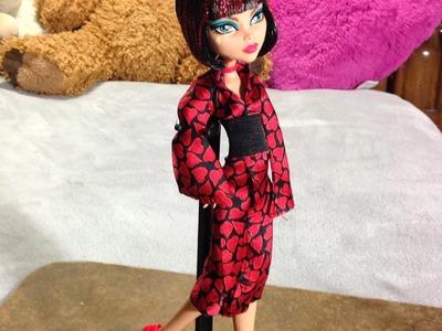 Como hacer un disfraz de kimono para tus muñecas.