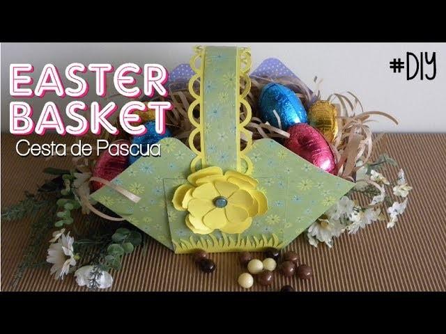 Como hacer una cesta para Pascua