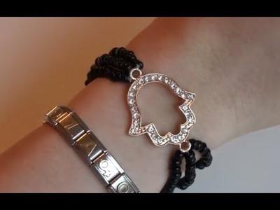 DIY: Como hacer pulseras de la suerte faciles y hermosas!