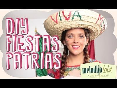 DIY Decoración para el 15 de Septiembre. Fiestas Patrias Mexicanas. Viva Mexico