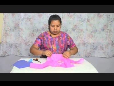 Extraordinaria 1 en el segmento creativo aprenda a cómo elaborar adornos para diferentes ocasiones con papel de china y globos