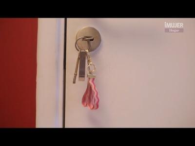 Hermoso detalle para las llaves de mamá | Manualidades para el día de la madre | @iMujerHogar