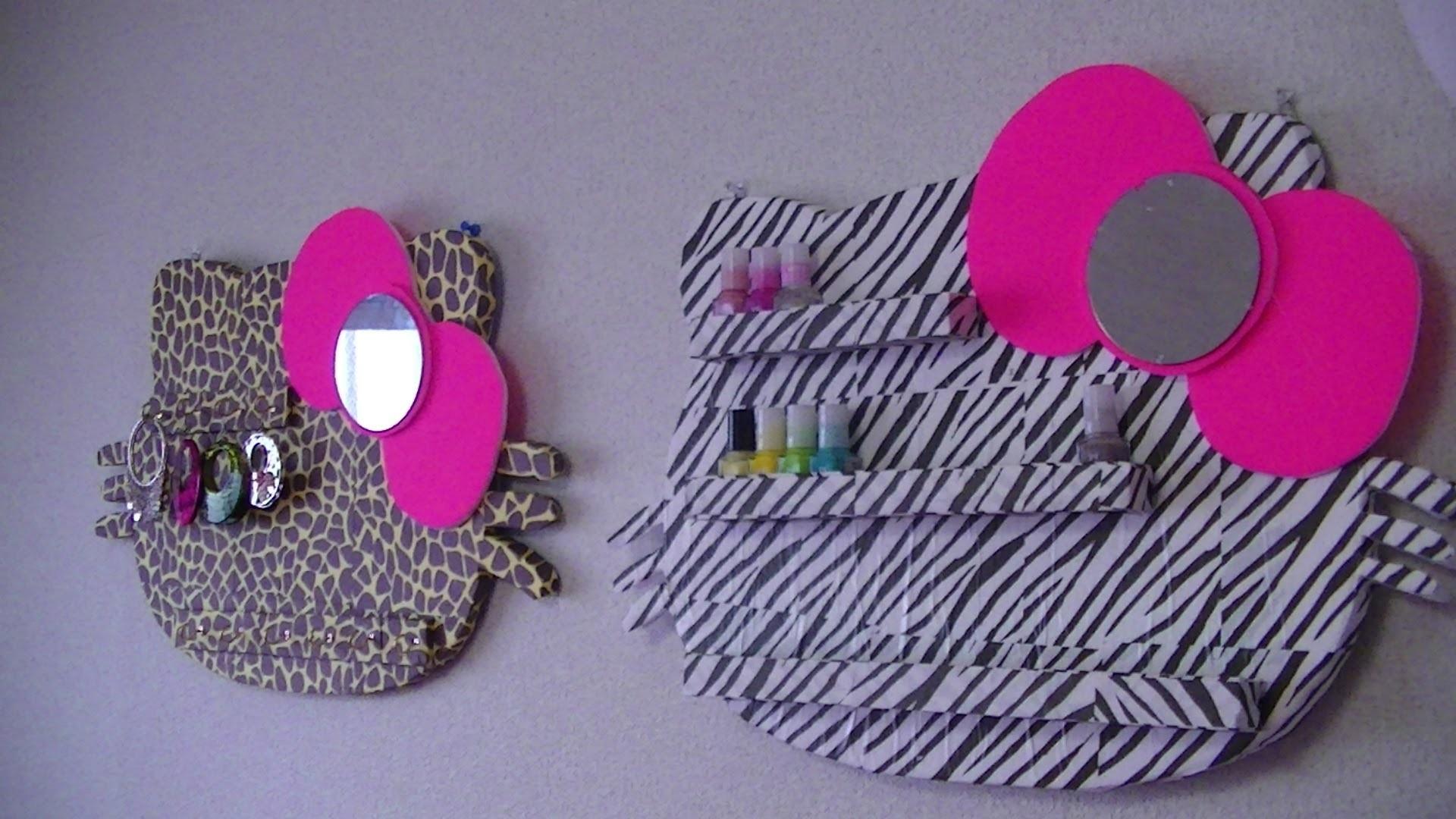 Manualidades: Estante de Hello Kitty - Juancarlos960