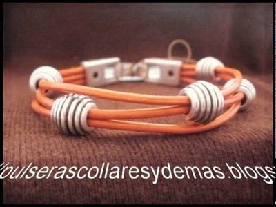Pulseras collares y demas. Pulseras 2012