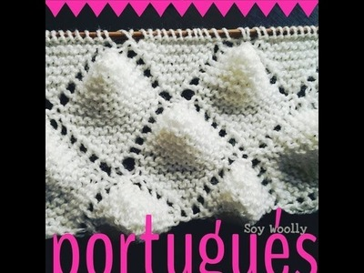 Punto Portugués, especial para mantas de bebé reversibles! - Soy Woolly