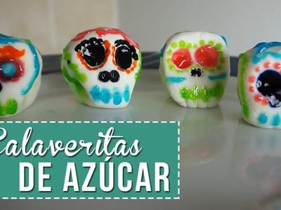 Receta de Calaveritas de Azúcar sin molde - Sonia Alicia