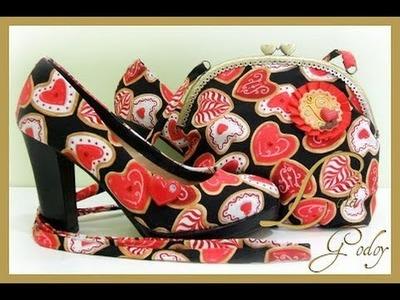Zapatos forrados a mano y bolso. Fragmento de radio sobre mi blog. Moda y complementos.