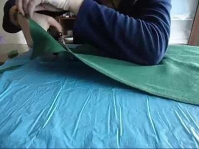 Caparazon de tortuga de fieltro