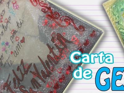 Carta de GEL Renovado y DIFERENTE (para San Valentín) - floritere - 2014
