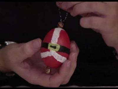 * Cómo decorar huevos para el árbol de Navidad | facilisimo.com