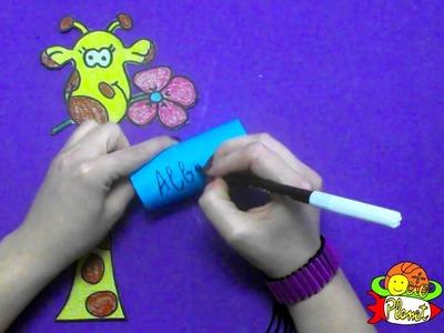 Cómo hacer una jirafa para mensajes