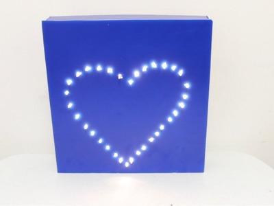 Cómo Hacer una Lámpara. Especial para San Valentín - Hablobajito