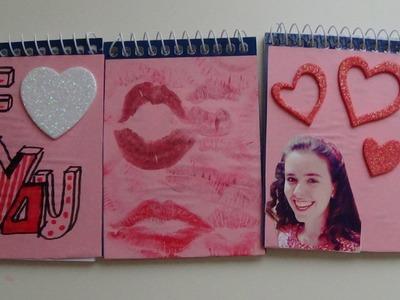 ♥Decorar libretas~Especial San Valentín♥