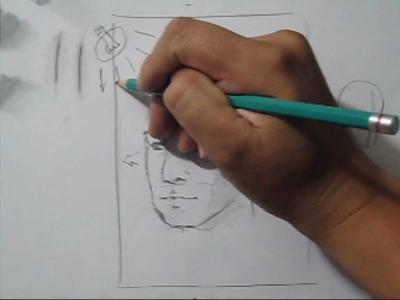 Dibujo e cabeza en 3.4, tips, técnica, tutorial, Realizando un difumino (esfumino) casero