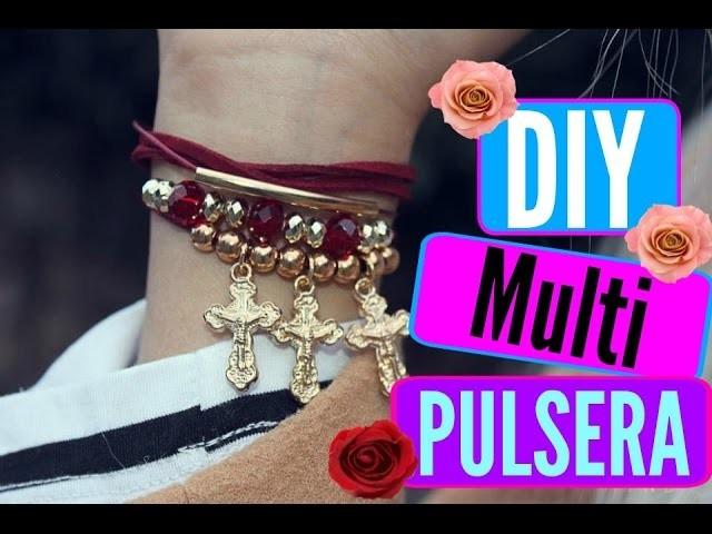 DIY multi pulsera