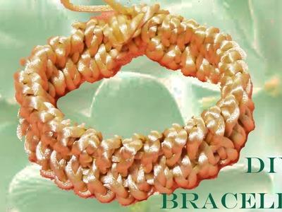 DIY pulseras trenzadas braided bracelets