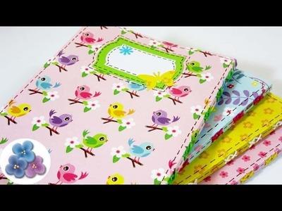 Encuadernacion: Mini Cuadernos Decorados 80 paginas Tutorial DIY Regalos Originales Pintura Facil