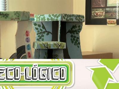 Hazlo Eco (Muebles de Cartón). Eco-Lógico (Cap.9)
