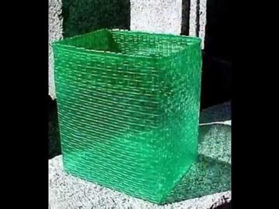 Ideas creativas para reciclar botellas de plástico