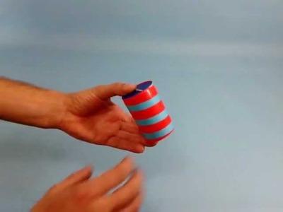 Manualidades y magia: cilindro mágico - el cilíndro que va y viene solo