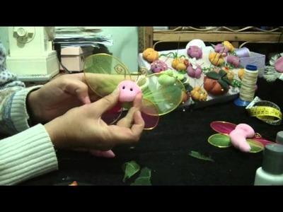 Muñecos Soft. mariposa con alas alambre 4.4. .proyecto 58