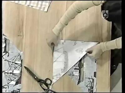 Puntos y Puntadas 61. Cómo realizar cinta al bies. Almohadón redondeado. Marina Orcoyen.