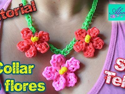 ♥ Tutorial: Collar de Flores de gomitas (sin telar) ♥