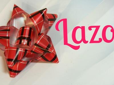 Tutorial: Lazos o moños para regalo. Gift ties.