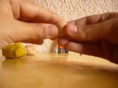 Como hacer a goku ssj3 de plastilina