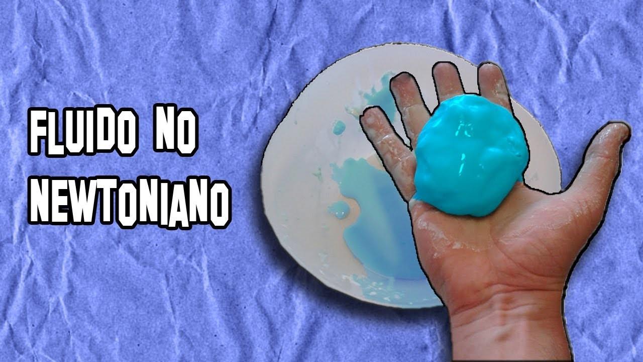 Como Hacer Fluido no Newtoniano Flubber Casero | How to do non-Newtonian fluid Make Flubber Home