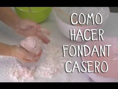 Cómo hacer fondant casero fácil | Decoración de tartas