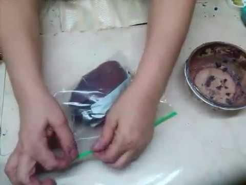 Como hacer Pasta Piedra. Dough stone for crafts