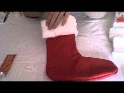 Decoración: calcetines de Navidad