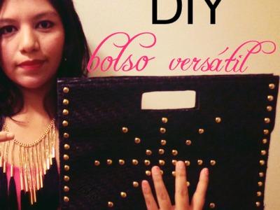Diy - !! crea tu bolso con un mantel individual !!