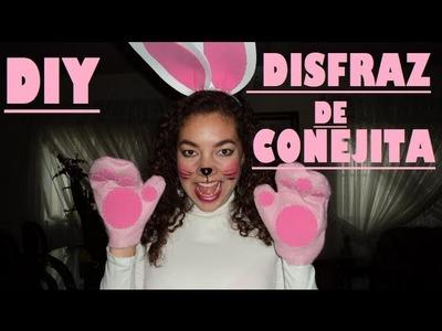 DIY disfraz de conejita (HALLOWEEN)