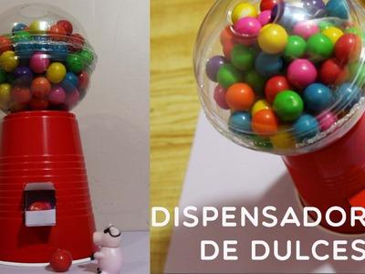 DIY: Dispensador de dulces ¡FÁCIL Y RÁPIDO! ❤ Regalo 14 feb