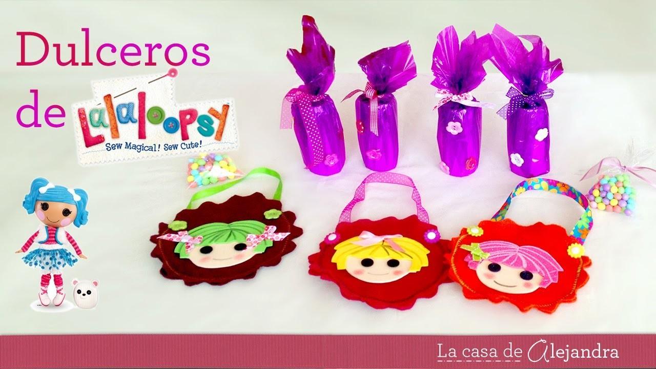 Dulcero Lalaloopsy  -  DIY Lalaloopsy candy box