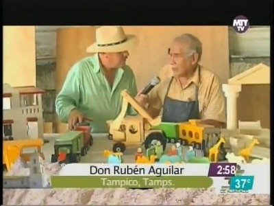 El Abuelo fabricante Juguetes Infantiles de madera en Tampico Tamaulipas